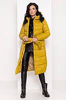 Яркий женский зимний пуховик Сигма 8232, фото 1