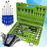 Три Набор Инструментов за 1699 грн(108 ед. Alloid НГ-4108П-6+наб ключей 12 шт -набор отверток 6 шт)