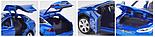 Коллекционный автомобиль Tesla Model X 90 (синий), фото 4