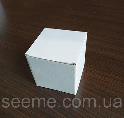 Коробка подарункова з мікрогофрокартону, 100х100х100 мм