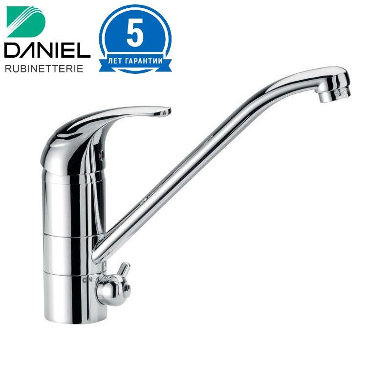 Смеситель для кухни однорычажный с подключение питьевой воды DANIEL SA1622