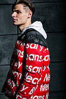 ✔️ Куртка пуховик в стиле The North Face x Supreme