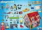 Игрушечный домик для кукол Playmobil 5870 Ветеринарная клиника, фото 3