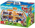 Игрушечный домик для кукол Playmobil 5870 Ветеринарная клиника, фото 4