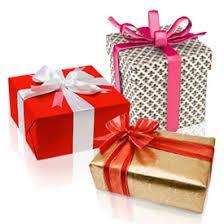 Услуга упаковка подарков на праздник
