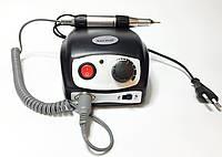 Фрезер Nail Polish DM-207 на 35000 об/мин 45Вт для маникюра с педалью Черный, фото 1