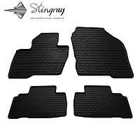 Коврики резиновые Stingray Ford Edge 2014- комплект черный