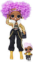 LOL сюрприз! 561811 LOL Surprise OMG Winter Disco 24K DJ Fashion Doll & Sister, Multi 2 волна!, фото 1