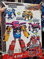 Трансформер Mini Force робот 527-1/2/3/4, фото 2