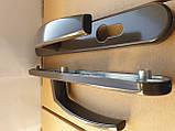 Ручка дверная нажимная Victory коричневая оригинал Польша, фото 3