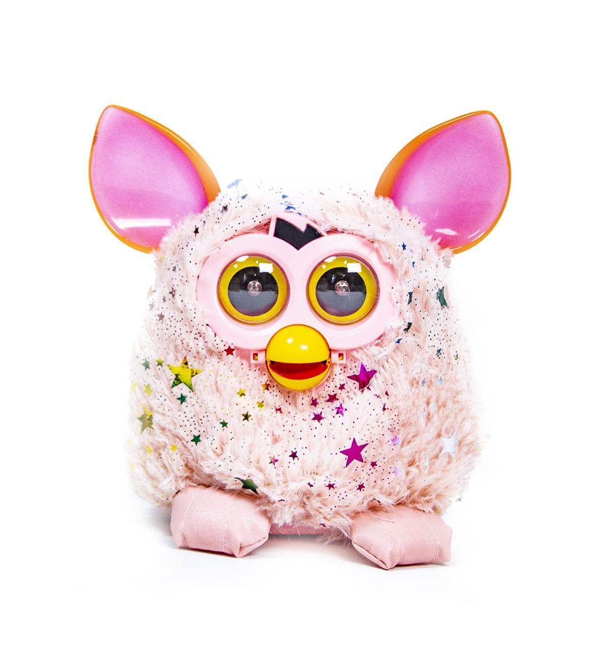 Интерактивная игрушка Фёрби розовая