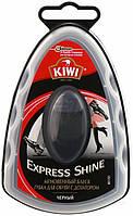 Губка-блеск для обуви с дозатором Kiwi черный 7 мл