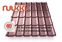 Металочерепица Decorrey Grand  Ruukki 40