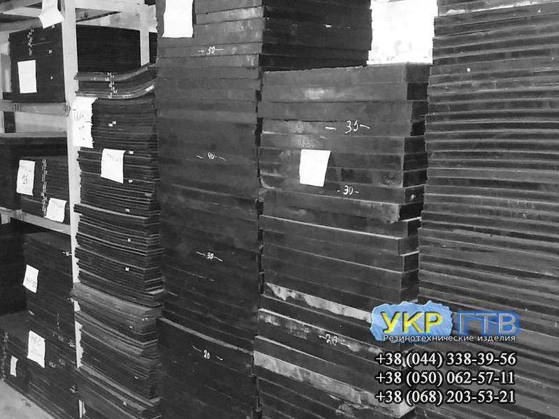 Техпластина МБС / Резина МБС 40 мм 1х1м