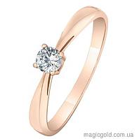 Золотое кольцо для предложения Валенсия