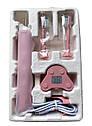 Электрическая зубная щетка Sonic Electric 602 звуковая многофункциональная водостойкая розовая, фото 2