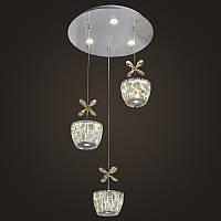 Хрустальная люстра NORDIS LED LIGHTING 8958-3 RD, КОД: 130716