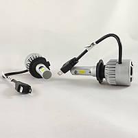LED-лампы автомобильные H7 6500K, 8000Lm ЛЭД лампы с охлаждением +ПОДАРОК!, фото 4