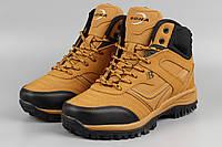 Ботинки унисекс рыжие Bona 760A-2-6 Бона женские Размеры 36 37 38 40 41, фото 1