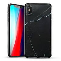Чехол ESR для iPhone XS Max Marble Slim, Black (4894240071731), фото 1