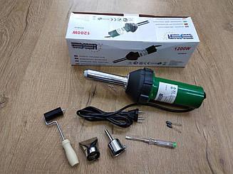 Фен паяльник для пайки бамперов Euro Craft ECHG12   Нагрев от 20 до 600 С   1200 Вт