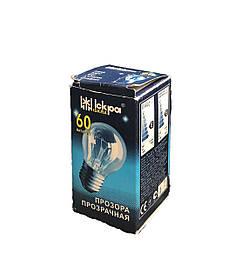 Лампа накаливания шарик, 60Ватт, Е27