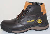 Ботинки зимние мужские кожаные от производителя АН1213, фото 1