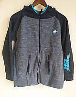Куртка детская толстовка кенгуру трикотажная для мальчика No Feаr (Размер 158 см, 13 лет)