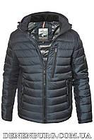 Куртка зимняя мужская INDACO 20-IC775-1CQ (CB) тёмно-синяя, фото 1