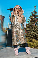"Женский пуховик-одеяло ""Ontario"" с капюшоном и карманами"