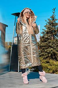"Женский пуховик-одеяло ""Ontario"" с капюшоном и карманами (3 цвета)"