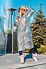 "Женский пуховик-одеяло ""Ontario"" с капюшоном и карманами (3 цвета), фото 4"