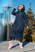 "Женский пуховик-одеяло ""Ontario"" с капюшоном и карманами (3 цвета), фото 3"