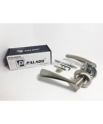 Дверная ручка PALADII алюминий круглая AL АЛІСА SN/CP сатен/хром