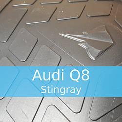 Резиновые коврики в автомобиль Audi Q8 2018- (Stingray)