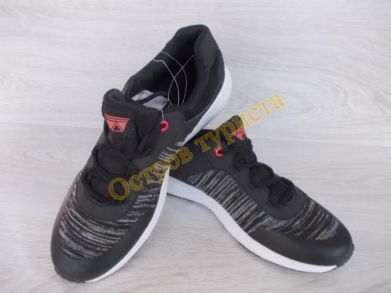 Кросівки Crivit 278858 розмір 40 устілка 26см чорні в сіру смужку