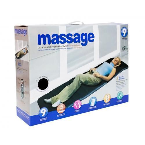 Массажный матрас с подогревом электронный Massage Mat