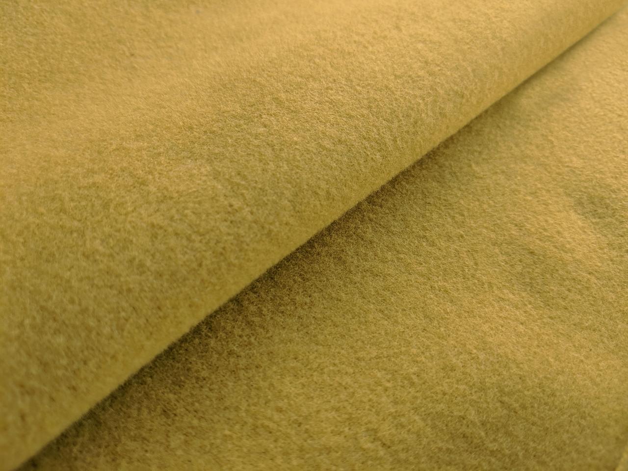 Кашемир пальтовый, желтый песочный