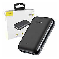 Внешний аккумулятор Baseus Mini JA power bank 10000mAh (PPJAN-A01, PPJAN-A02) УМБ, USB type-c, USB microUSB