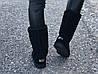 Замшевые женские угги UGG IT TS черные, фото 3