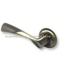 Дверная ручка PALADII алюминий круглая AL АЛІСА АВ бронза