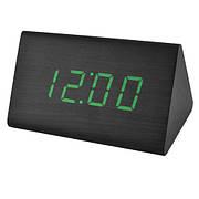 Часы сетевые VST-868-4 Зеленая подсветка