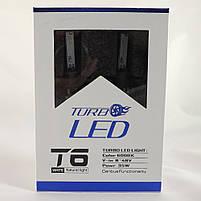 Комплект светодиодных ЛЭД ламп T6-H1 Turbo LED (Автомобильные лампы Т6)+ПОДАРОК!, фото 4