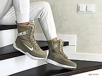Зимние сапоги Nike, женские сапоги.ТОП КАЧЕСТВО!!! Реплика класса люкс (ААА+), фото 1