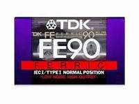 Аудиокассеты TDK FE 90 min NORMAL POSITION made in Japan