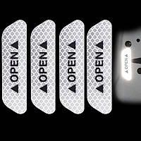 Светоотражающая наклейка - OPEN - белые, фото 1
