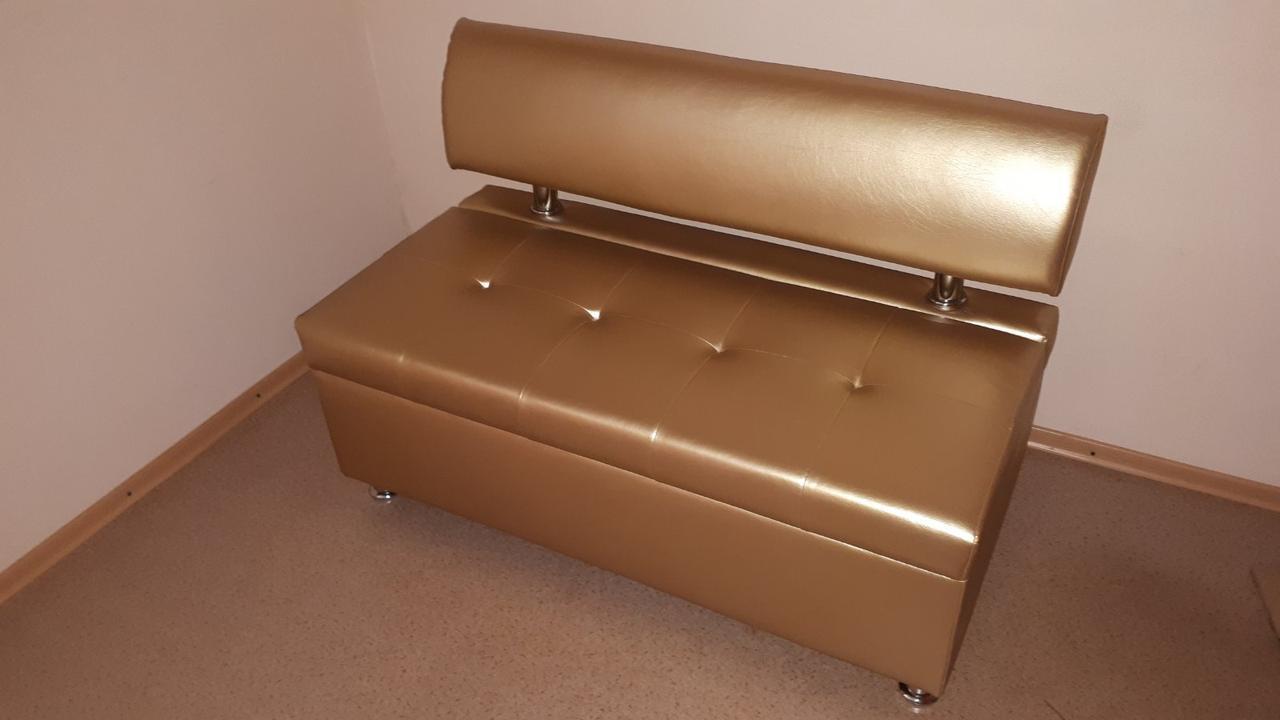 Офисный диван с коробом Mebeldkdom  1200*600*800h