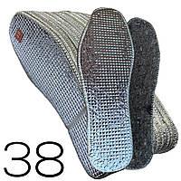 Стельки для обуви ВОЙЛОК+ФОЛЬГА малоразмерные