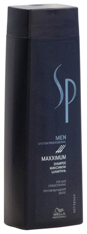 SP Men Maximum Shampoo Шампунь против выпадения волос 250 мл