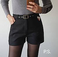 Стильные женские твидовые шорты Разные цвета